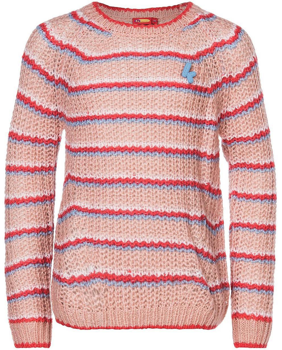 Pullover - AO1 - Gestreifter Pullover aus einer Wollmischung